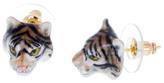 Nach Mini Tiger Porcelain Earrings