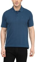 American Crew Premium Pique Solid Polo T-Shirt With Pocket- M (AC199-M)