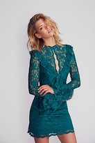 Saylor Devin Lace Bodycon Dress by at Free People