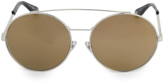 Givenchy 53MM Round Double-Bridge Sunglasses