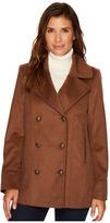 Pendleton Notch Collar Peacoat Women's Coat