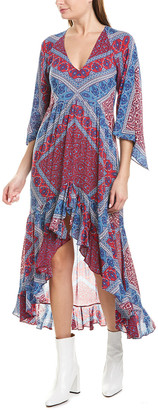 BA&SH Usso Midi Dress