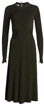 Akris Punto Women's Knit Merino Wool Midi Dress