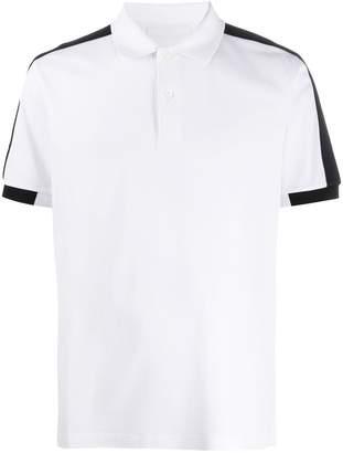 Prada contrast trim polo shirt