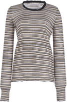 Sonia Rykiel Fluid Striped Long Sleeve Sweater