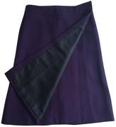 Saint Laurent Wool mid-length skirt