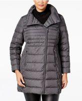 MICHAEL Michael Kors Size Asymmetrical Down Coat