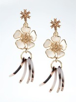 Banana Republic Tortoise Petal Earring