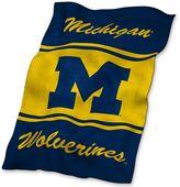 Ultrasoft Michigan Wolverines Blanket