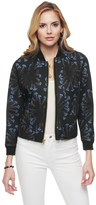 Juicy Couture Sea Spray Floral Bonded Mesh Bomber