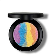 Travelmall Rainbow Highlighter eyeshadow Makeup Palette Powder Makeup Rainbow Cake , 6 colors in 1 (rainbow)