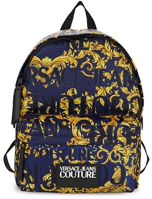 Versace Jeans Couture Graphic Logo Backpack