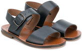 Pépé double strap sandals - kids - Calf Leather/Leather - 22