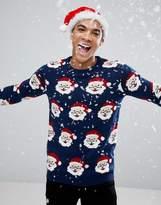 Pull&Bear Santa Holidays Sweater