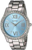 Ellen Tracy Women's Quartz Metal and Alloy Watch, Color:Silver-Toned (Model: ET5190SLLB)