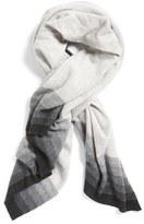 Halogen Ombré Stripe Cashmere Wrap