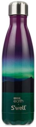 Swell X BBC earth Northern Lights steel bottle 500ml