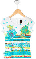Catimini Girls' Printed Top