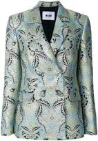 MSGM jacquard blazer