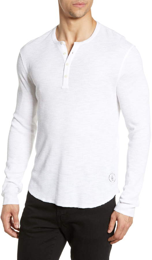 316dead7 Thermal Waffle Knit Shirt - ShopStyle