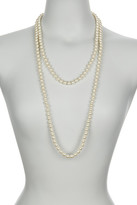 Nordstrom Rack Faux Pearl Long Necklace