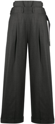 Christian Dior 1990s Pre-Owned Wide-Leg Trousers