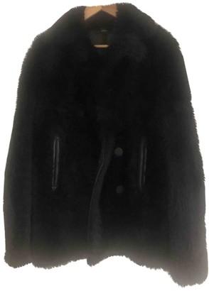 Joseph Blue Shearling Coat for Women