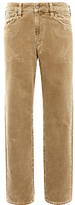 Gant Regular Fit Stone Corduroy Trousers, Noisette