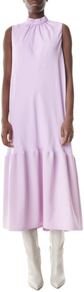 Tibi Modern Drape Sculpted Long Dress