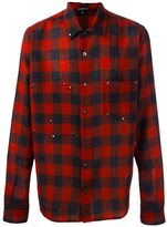 Ann Demeulemeester plaid button down shirt - men - Wool - S