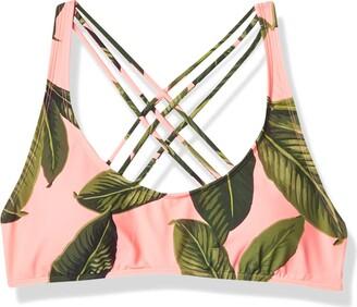 Eidon Junior's Stacey Bikini Top Swimsuit with Multi Strap Back Detail