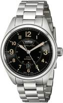Hamilton Men's H70505933 Khaki Field Analog Display Automatic Self Wind Silver Watch