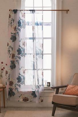 Deny Designs Marta B. Camarasa For Deny Sheer Flowerly Blooming Window Panel