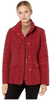 MICHAEL Michael Kors Short Quilt M424481TZ (Black) Women's Coat