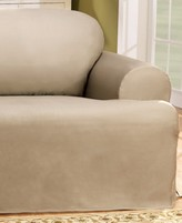 Sure Fit Duck T-Cushion Chair Slipcover