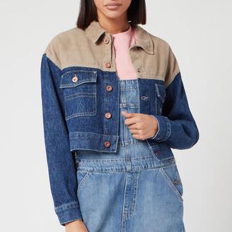 Tommy Jeans Women's Cropped Trucker Jacket