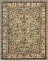 "Nourison Wool & Silk 2000 2005 Light Green 3'9"" x 5'9"" Area Rug"