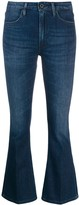 Dondup kick flare cropped jeans