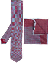 Brioni tie and pocket square set - men - Silk - One Size