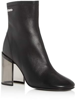 Kenzo Women's K-Round Transparent-Heel Booties
