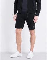 Cp Company Lens-pocket Cotton-jersey Shorts