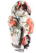 Alexander McQueen Floral Shawl