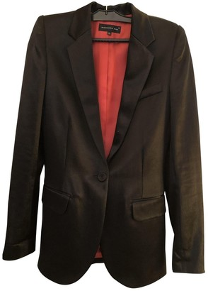 Barbara Bui Black Cotton Jacket for Women