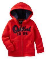 Osh Kosh Heritage Fleece Hoodie in Red
