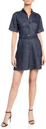 A.L.C. Romi Belted Shirt Dress