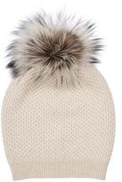 William Sharp Diamond Knit Slouch Hat