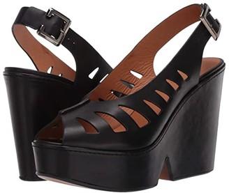 Clergerie Diane (Black Calf) Women's Shoes