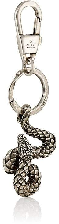 Gucci Men's Silvertone Brass Snake Keychain