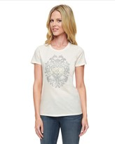 Juicy Couture Logo Flourished Crest Short Sleeve Tee