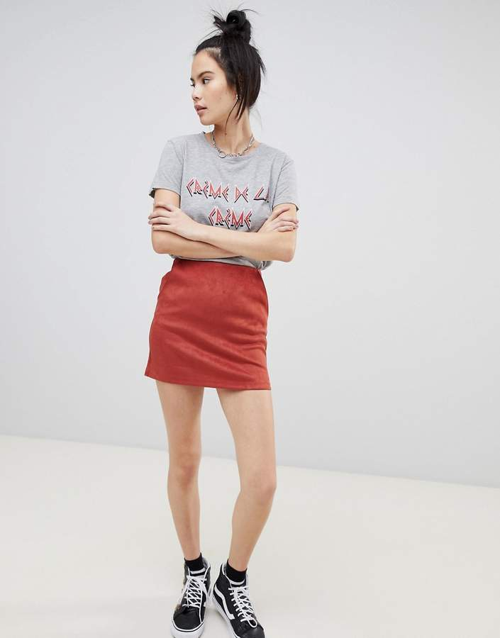 basic micro skirt